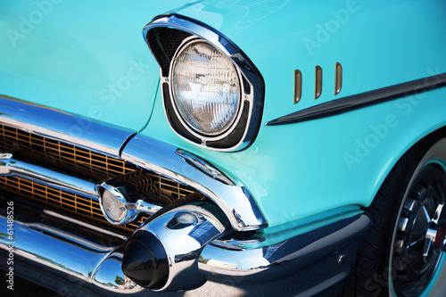 Fotobehang Vintage cars Front Detail of a Vintage Car
