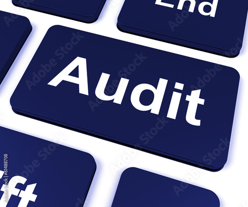 Audit Key Shows Auditor Validation Or Inspection