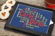 Carpe DIem word cloud