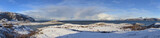 SOmmaroya island.Northern Norway.Big panorama.
