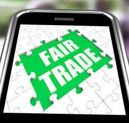 Fair Trade Smartphone Means Shop Or Buy Fairtrade