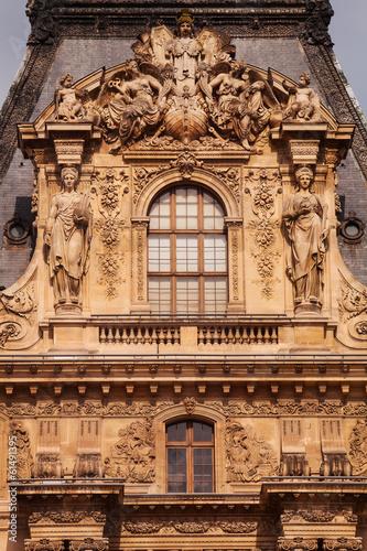 Louvre museum, Paris, France, 25.09.2013