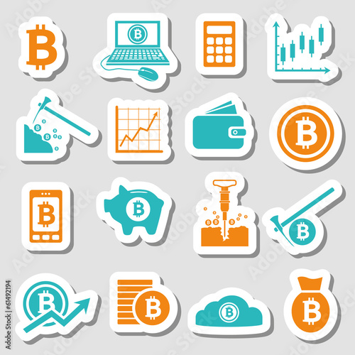 bitcoin stickers