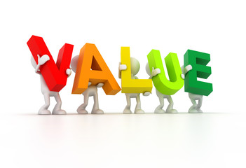 Team forming Value word