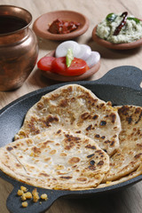 Channa Daal Parantha is an Indian flatbread