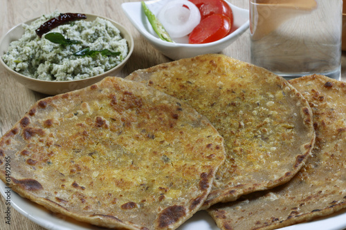 Daal ka Paratha – A flatbread made from lentils
