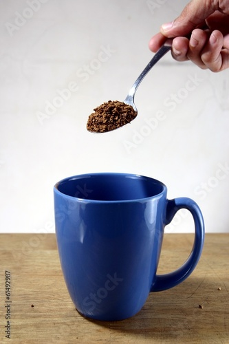 Coffee Being Poured To a Mug