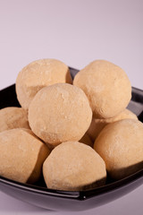 Mysore Pak- Sweet dish made from lentil flour.
