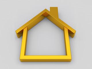 House symbol  on white background