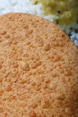 Papad is a popular Indian snack or round flat bread