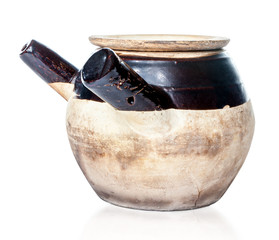 Seasoned Chinese Herbal Medicine Claypot