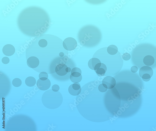 Abstract background of blue color black boke