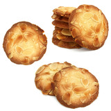 Almond cookies - Biscuits aux amandes