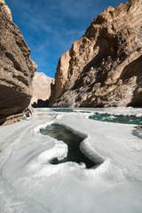 Chadar Trek or Frozen Zanskar River Trek, Ladakh, India