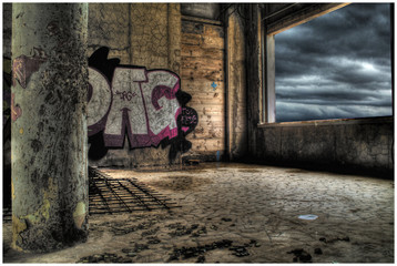 graffiti hdr