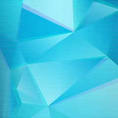 Abstract BlueTriangle Background