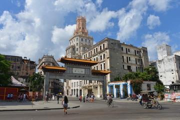 Chinatown, Havana in Cuba