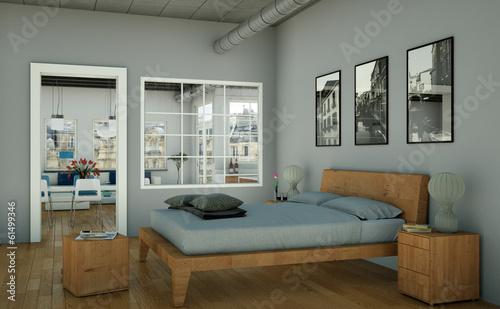 canvas print picture modernes Loft