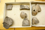 Clay jug fragments - archaeological artifacts