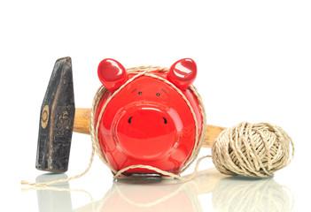 Sparschwein schlachten