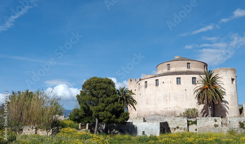 canvas print picture citadelle de Saint Florent
