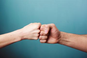 Fist bump