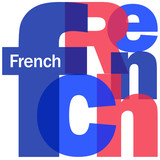 """FRENCH"" Letter Collage (foreign language version france speak)"