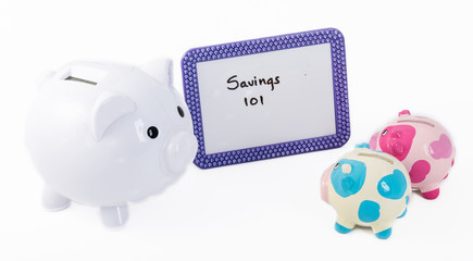 Learning how to save money