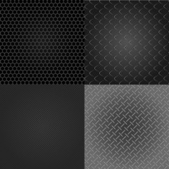 industrial backgrounds set