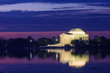 the Jefferson Memorial during the Cherry Blossom Festival in DC