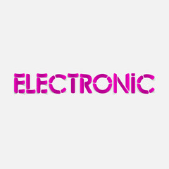 realistic design element: electronic