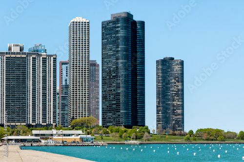 Harbor Point Condominiums on Lake Michigan