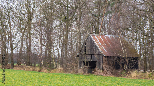 Old abandoned shed