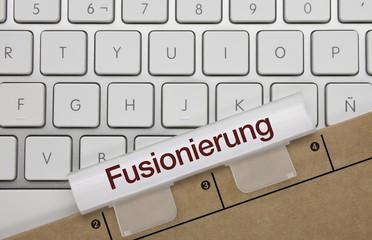 Fusionierung. Tastatur