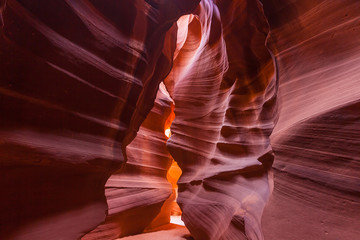 Antelope Canyon,  AZ USA