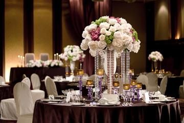 婚礼会場の装飾