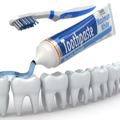 Dental protection, Teeth, toothpaste and toothbrushes.