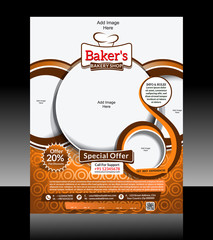 bakery Flyer Design