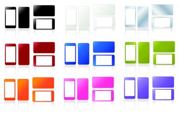 Téléphone portable de couleur