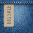 Big Sale Jeans Background
