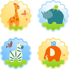 Safari Animals Icons