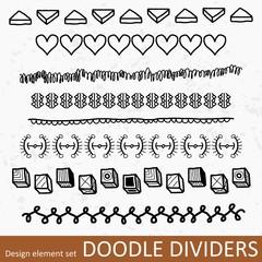Border divider set