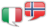 Italian-Norwegian Conversation