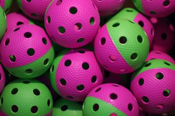 Floorball balls