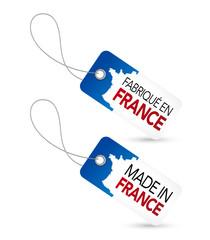 Etiquette fabrication Française