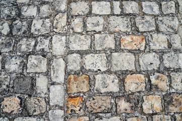 Antikes Straßenpflaster