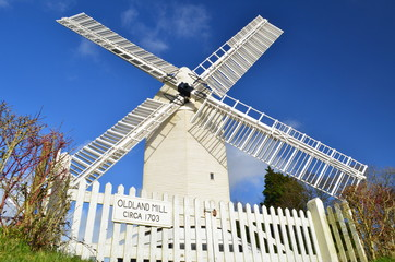 Oldland post mill,Sussex,England.