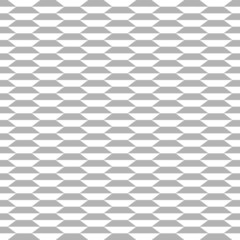 Geometric monochrome seamless pattern