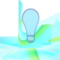 lampadina nel blu