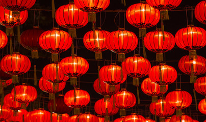 Chinese New Year Lanterns © tanawatbig